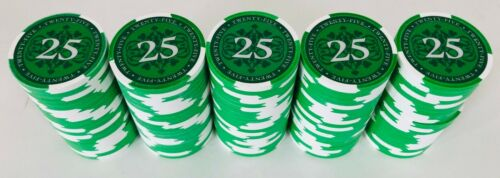 (100) $25 PAULSON ELITE POKER CHIPS