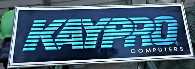 Rare Original, Vintage, KAYPRO Computer Advertising Sign for sale  Shipping to South Africa