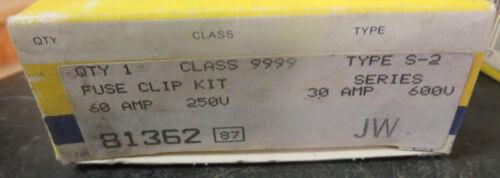 Square D 9999 S-2 Fuse Clip Kit 60 Amp