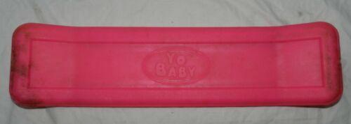 Hot Pink Yo Baby Kick Flipper Skateboard Practice Board