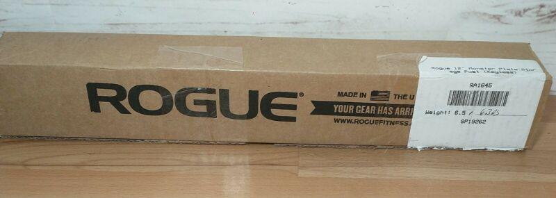 "Rogue Fitness Monster Plate Storage Pin Keyless Black 12"" RA1645"