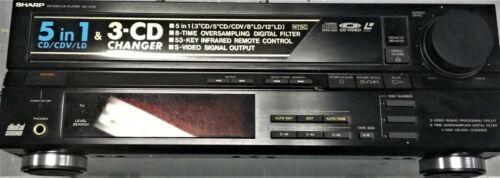Vintage Sharp MV-D1000 Laserdisc CD Video Player RARE