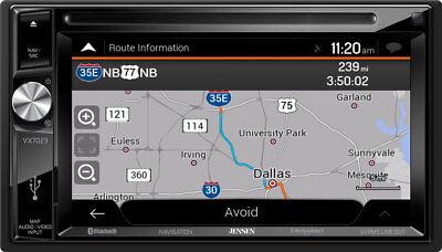 Jensen VX7023 In Dash Touchscreen Navigation Receiver