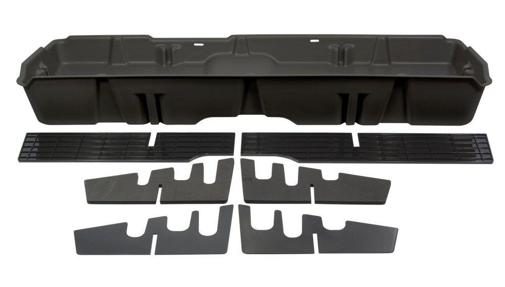 Du-Ha Underseat Storage Gun Case 07-13 GMC Sierra Crew Cab Dark Gray 10042