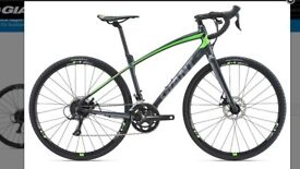 Giant Anyroad 2 2018 Adventure / Gravel Bike as new size Large