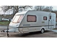 2003/04 ABBEY FREESTYLE 520 SE, 4 BERTH WITH END BATHROOM & AVNING - LIGHT WEIGHT CARAVAN!