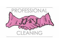 JJ&J Cleaning. Mother & Daughter team. +4 years experience. £11 p/h. £5 OFF OFFER SPRING CLEANING