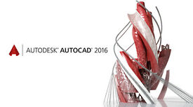 AUTODESK AUTOCAD 2016 PC--MAC: