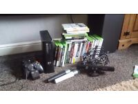 Xbox 360 console. Kinect. games. controls