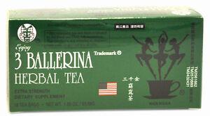 One BOX OF 3 Ballerina Herbal slimming Tea Dieters' Drink - BUY 2 GET 1 Free !