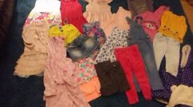 girls age 5-6 clothes bundle all in excellent condition see all photos
