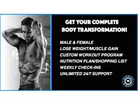 LOSE FAT, TONE UP, GAIN MUSCLE BODY TRANSFORMATION PARK TRAINING! 50% OFF FIRST SESSION!