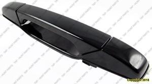 Door Handle Outer Rear Driver Side Primed  GMC Sierra 2007-2014