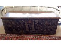 Large Arabian Decorated Chest