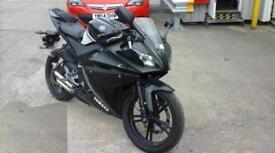 2009 Yamaha yzf r125 *straight pipe* MOT