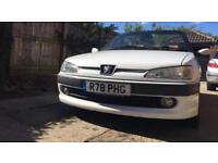 Peugeot 306 roadster convertible 2.0ltr turbo diesel