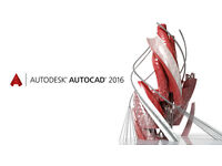 -AUTODESK AUTOCAD 2016 PC/MAC-
