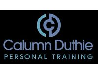 Calumn Duthie Personal Training - First Session Free.