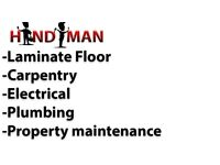 Enfield best quote, handyman , electrical, pluming, flooring, furniture, carpentry