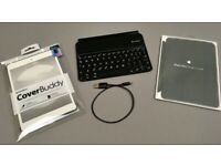 Used Apple iPad Mini Logitech bluetooth keyboard and iPad covers