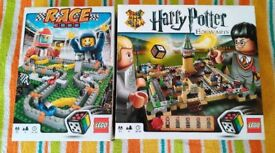 Lego Harry Potter and Lego Race 3000 Board Games