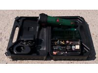 Parkside cordless Dremel type rotary tool.