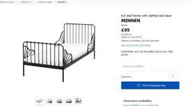 2x Minnen bed frames. 35 pounds each.