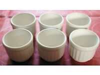 Set of 6 Biltons White Egg Cups