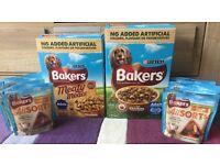 New Purina Bakers Dry dog food and Treats