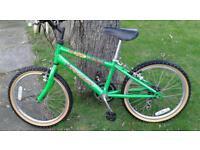 "Raleigh 5 speed junior bike. 20"" wheels."