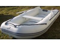 Quicksilver 310 Airdeck rib inc Mariner 4HP Outboard