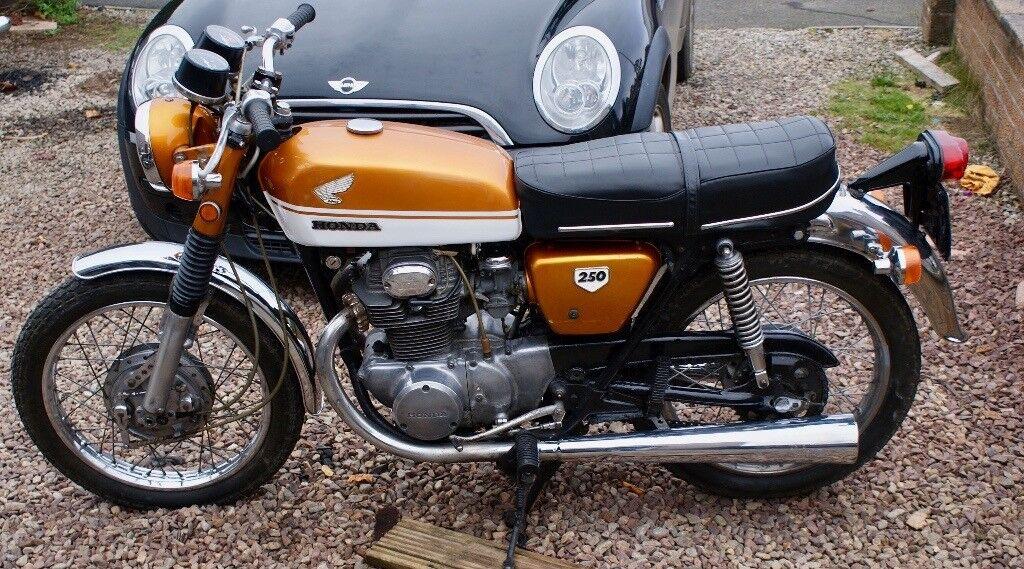 1970 Honda Cb250 K2 In Angus Gumtree