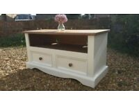 Large Solid Country Pine tv unit table