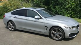 2015 BMW 4 SERIES GRAN COUPE DIESEL 420d sport.Warranty until Dec 2018.Sunroof, upgraded 19'' alloys