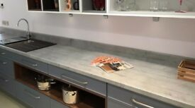 concrete worktops and tables
