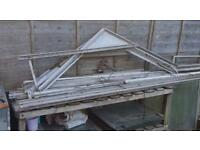 8x6 green house frame only