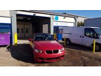 BODYWORK SERVICES, RESPRAYS, ACCIDENT REPAIR, UNBEATABLE PRICES FROM ONLY £100 PER PANEL