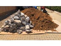 FREE CONCRETE HARDCORE AND SAND BALLAST FROM FOOTING EXTRACTION COLLECTION TODAY ONLY