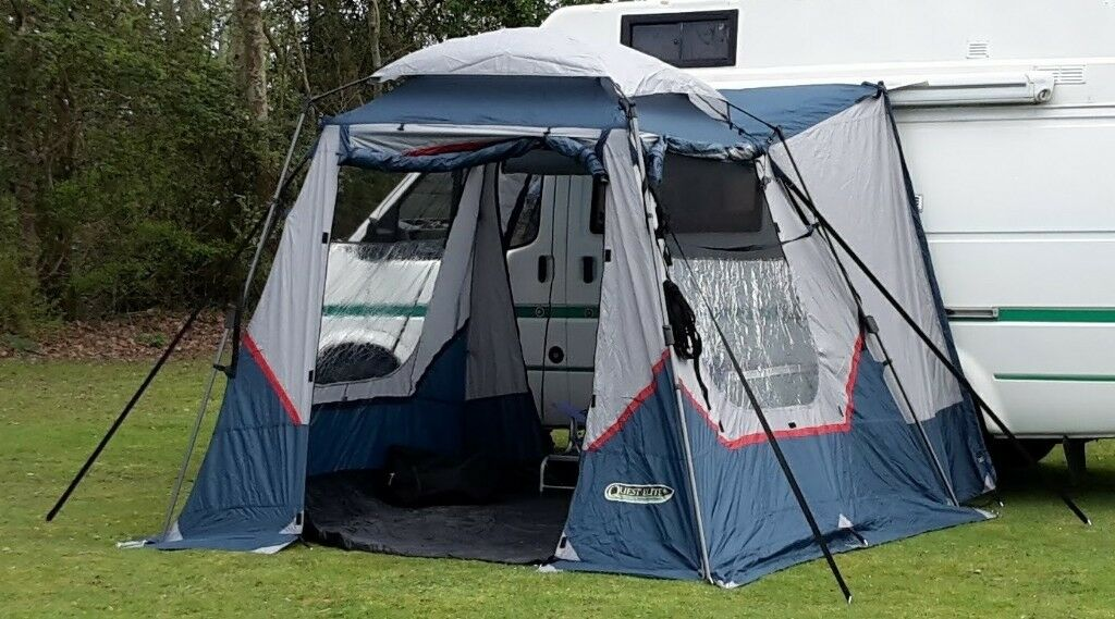 Quest Elite Instant Campervan Awning as New Condition ...
