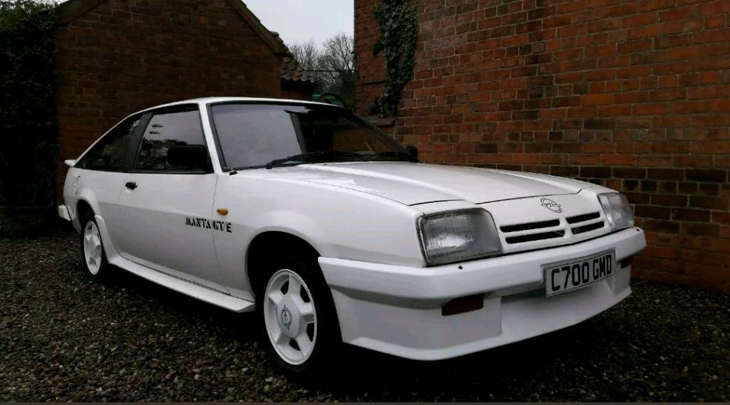 Opel Manta Gte In Bromborough Merseyside Gumtree