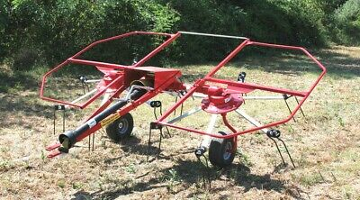 New Enrossi 10 Ft. 2 Basket Hay Tedder Free 1000 Mile Delivery From Ky