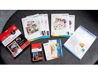 Paper bundle - Photo/Sticker/Canvas - for all inkjet Printers