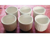 Set of 6 Biltons White Egg Cups