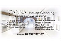 JOANNA House Cleaning.