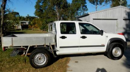 HOLDEO RA RODEO LX 4X4 DIESEL DUAL CAB TRAY BACK  MY: 10/2007 KM: Branyan Bundaberg Surrounds Preview