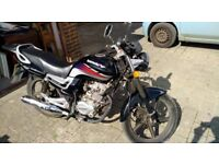 125 Lexmto Good bike, all works as it should, only has 2k on the engine,