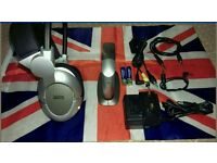Wireless Headphones Accessory Agents FMH2020UK Rechargeable