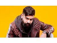 FRONT ROW * 2 x PAUL CHOWDHRY TICKETS * STALLS * ROW A * ST ALBANS * MARCH 2018 (£65 per ticket)