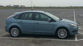 2009 Ford Focus Titanium. 1.8 Turbo Diesel. 43k. Metallic paint. Owned from new. Serviced at Dealer.