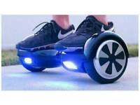 NEW 2 WHEEL ELECTRIC SCOOTER SMART BALANCE BOARD UNICYCLE WITH BLUETOOTH FOR MUSIC BOXED HOVERBOARD